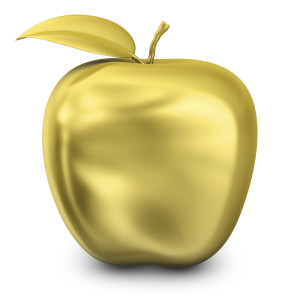 Gold Apple Photo